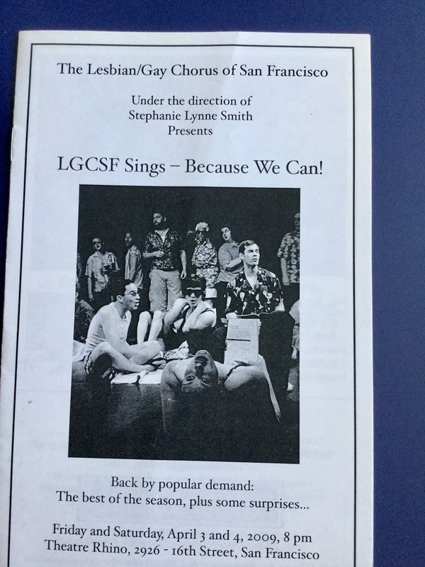 LGCSF Sings - Because We Can program