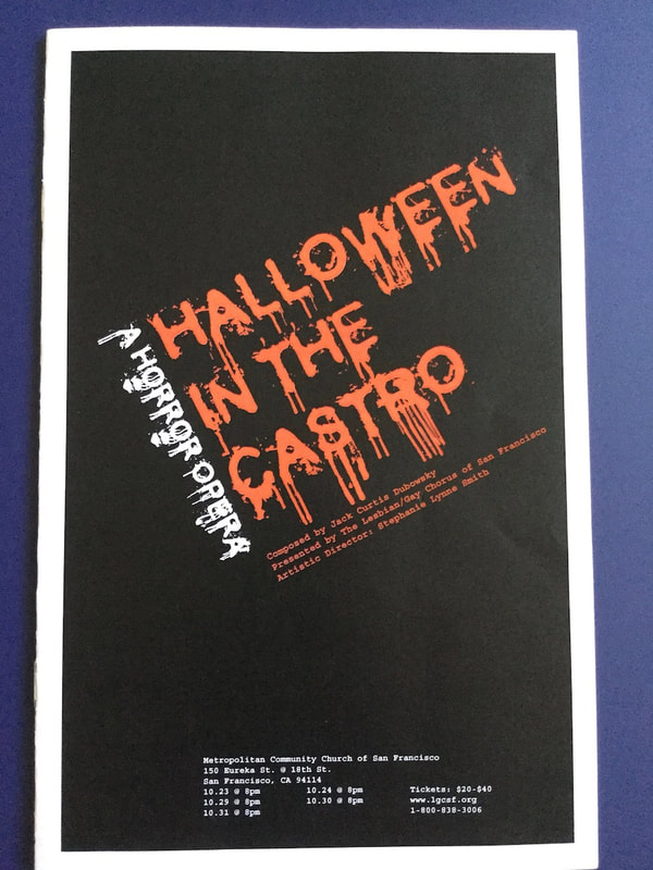 Halloween in the Castro program