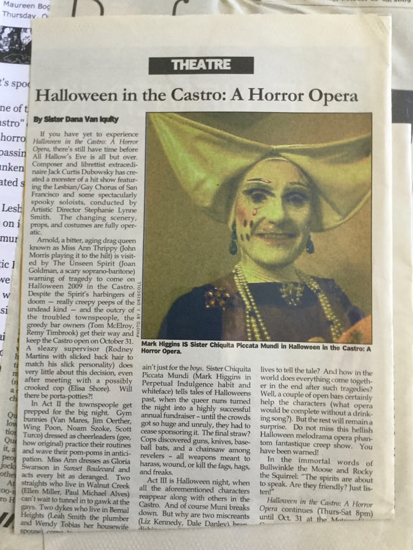 Halloween in the Castro news article