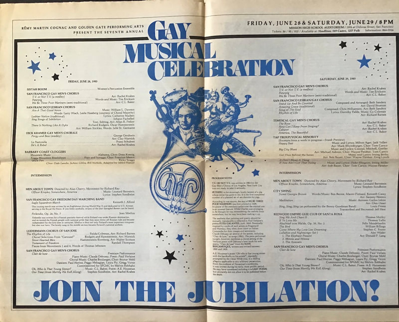 Gay Musical Celebration 1985