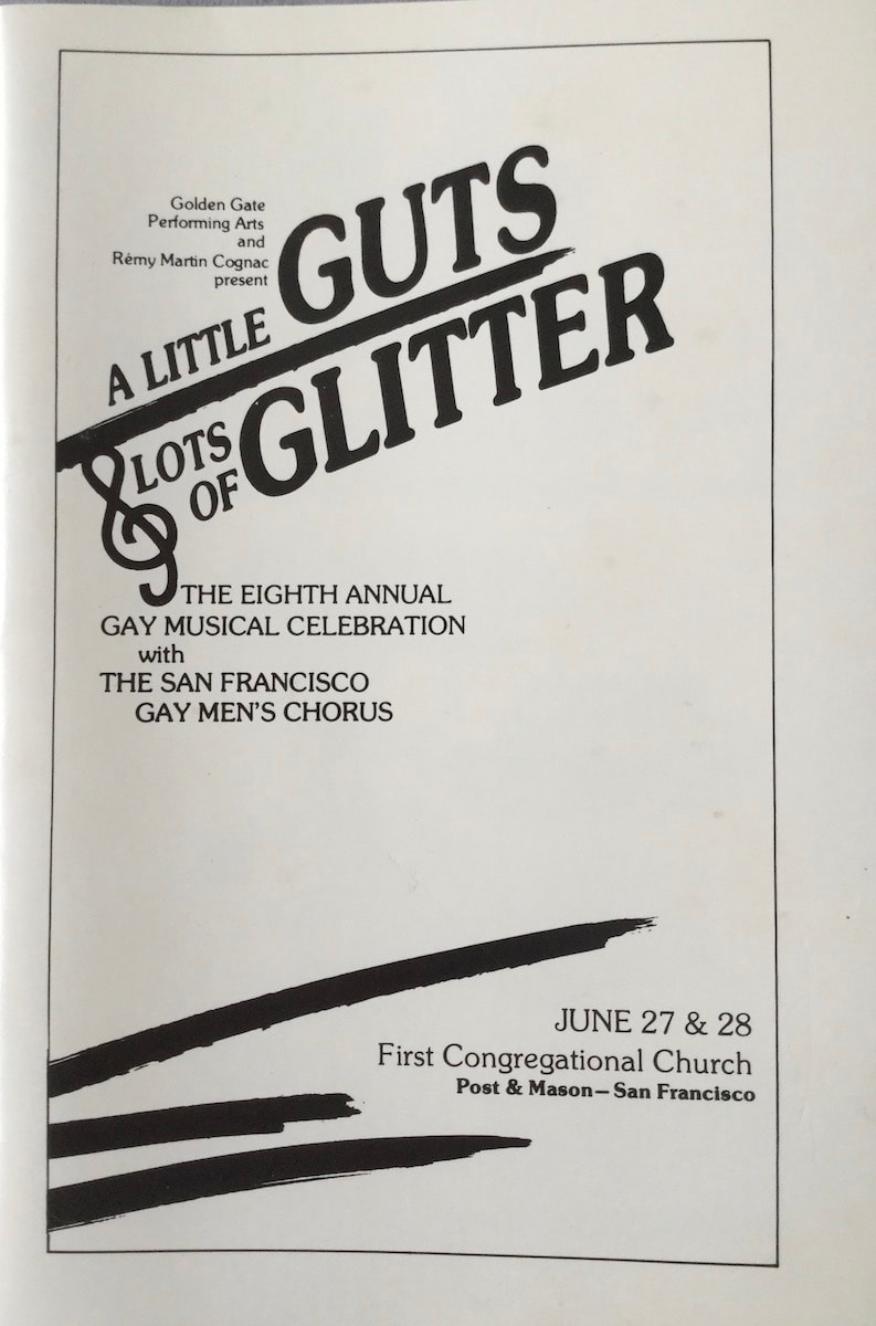 Gay Musical Celebration 1986