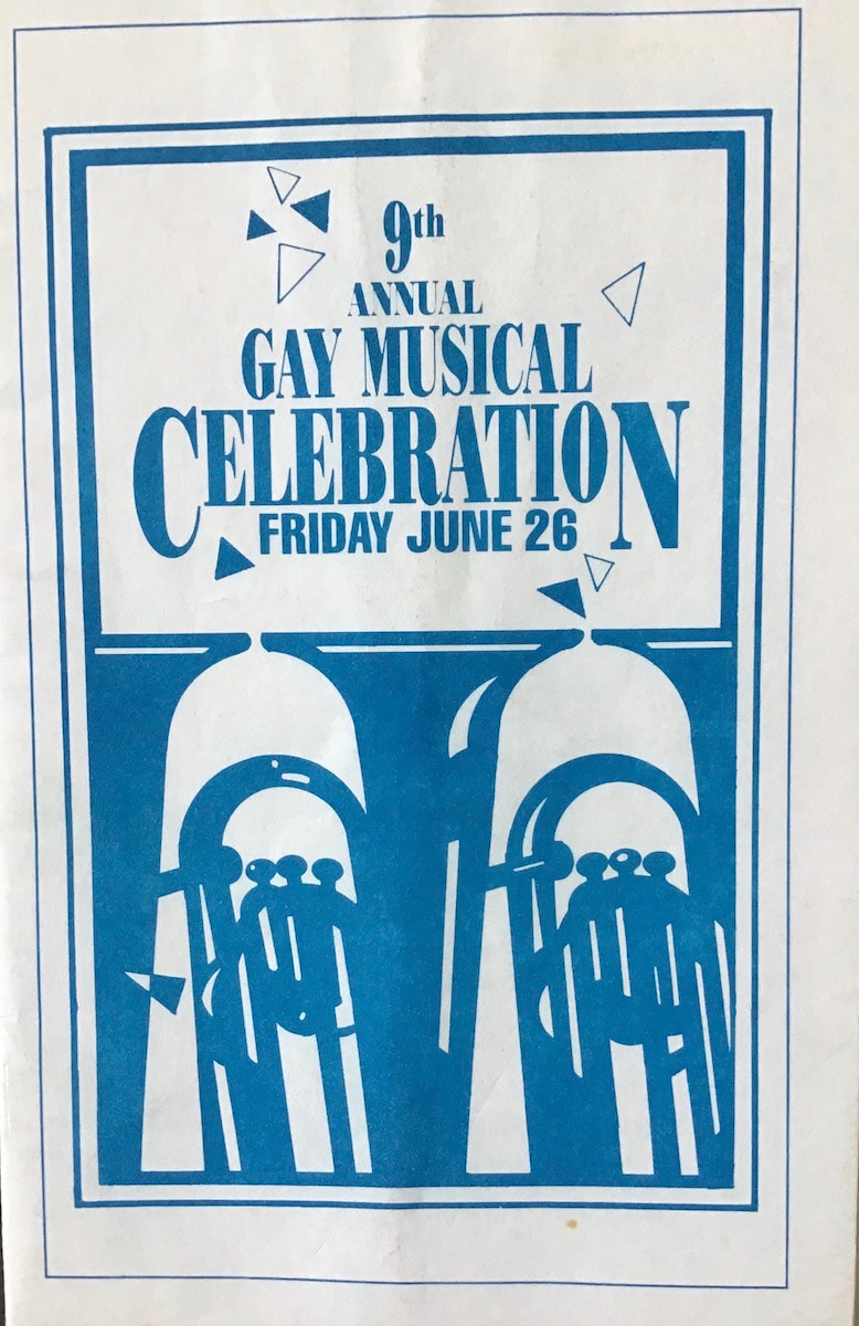 Gay Musical Celebration 1987