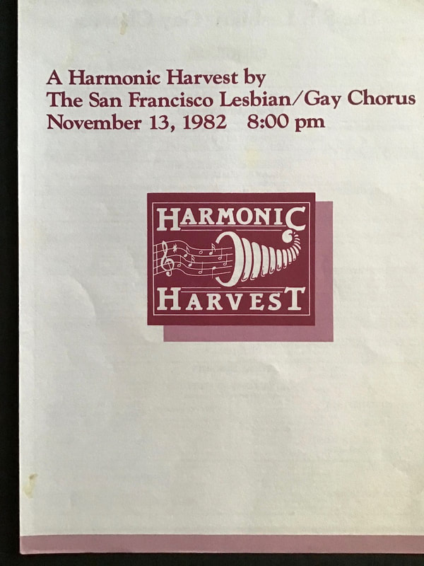 A Harmonic Harvest program cover