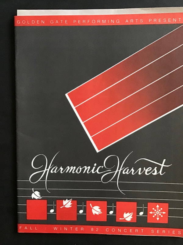 Harmonic Harvest program cover