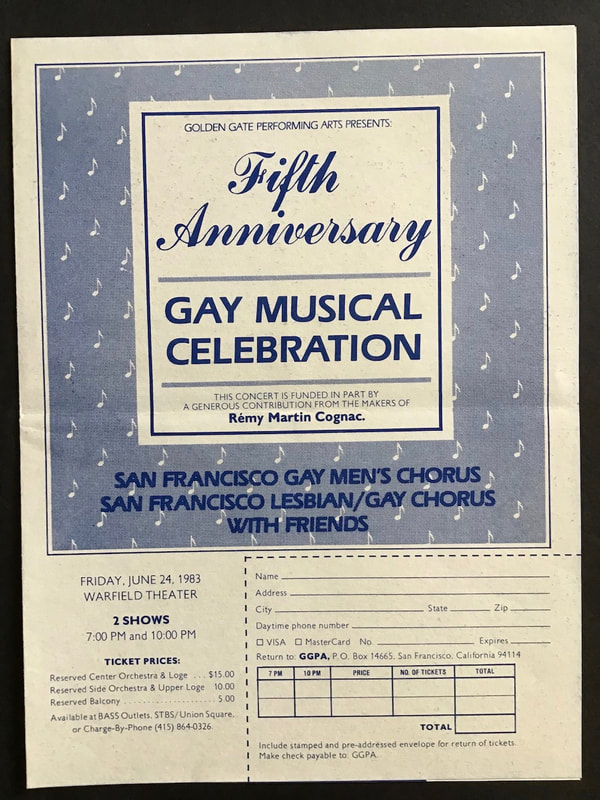 Gay Musical Celebration poster