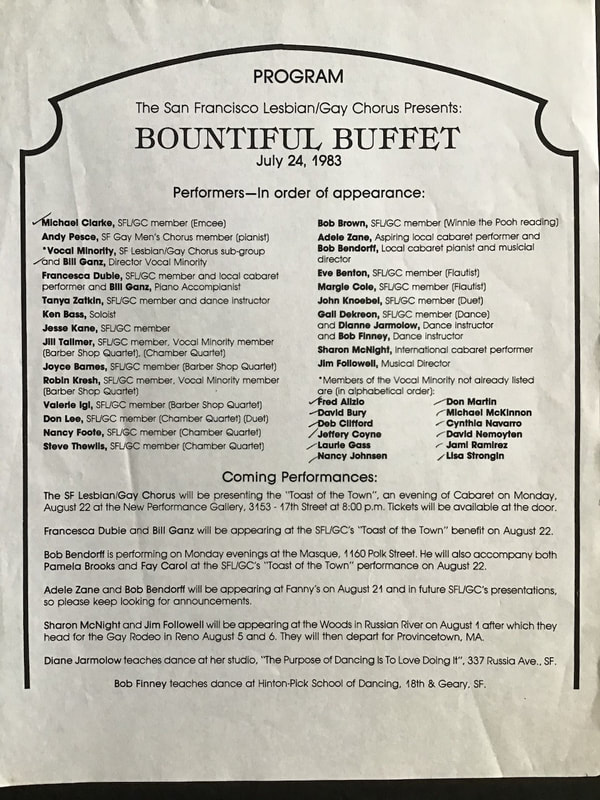 Bountiful Buffet program