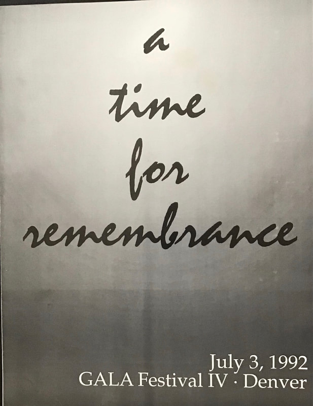 a time for remembrance cover