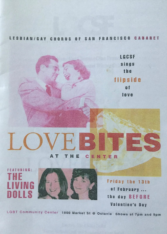 Love Bites at the Center flyer