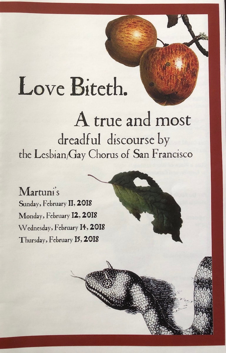 Love Biteth flyer