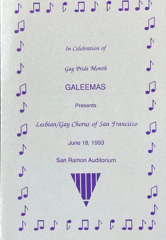 GALEEMAS June 1993 program cover