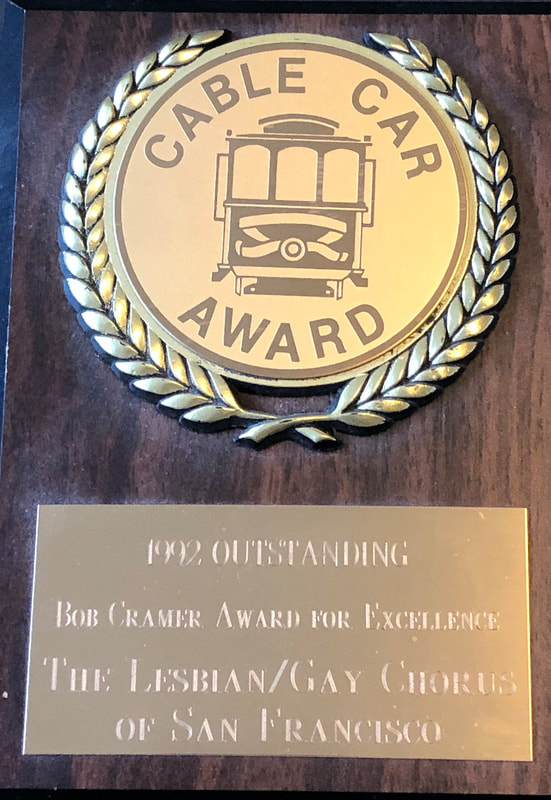 1992 Cable Car Award