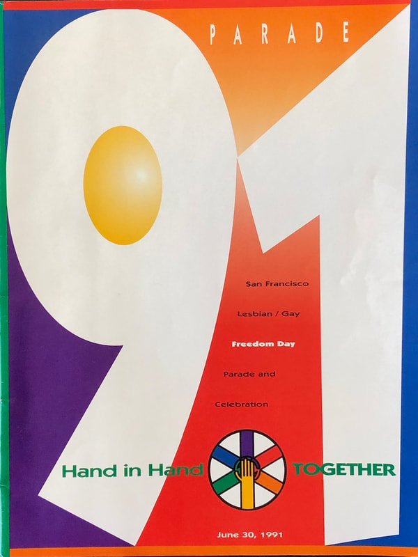 1991 Pride Parade program cover
