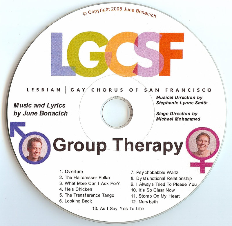 LGCSF Group Therapy CD