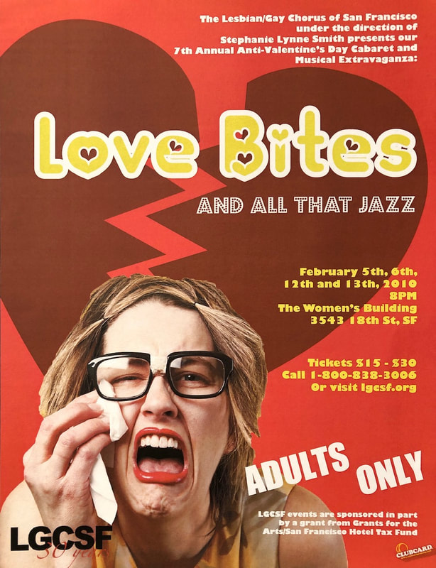 Love Bites and All That Jazz flyer