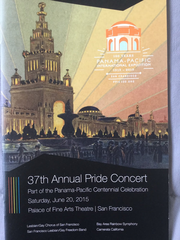 37th Annual Pride Concert program